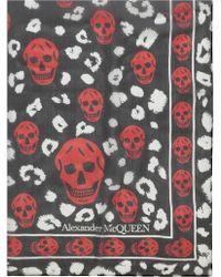 Alexander McQueen - Leopard Multi Skull - Lyst