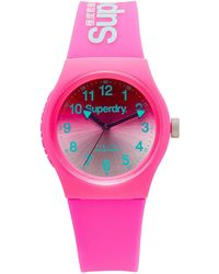 Superdry - 3 Hands;gradient Mirror Pink Dial - Lyst