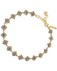 Oscar de la Renta - Delicate Star Necklace - Lyst