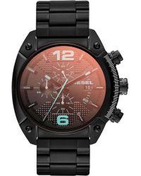 DIESEL - Overflow Black Watch - Lyst