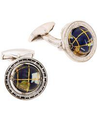 Tateossian - Miniature World Cufflink - Lyst