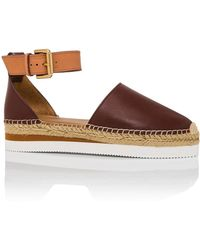 See By Chloé - Flat Espadrille Snadal - Lyst