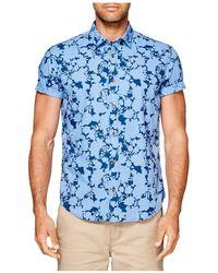 Ben Sherman - Floral Shadow Mod Shirt - Lyst