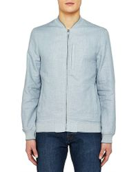 Ted Baker - Raney Textured Cotton Bomber Jacket - Lyst