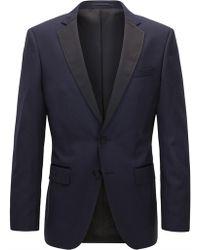 BOSS Italian Super 120 Wool Suit Jacket, Slim Fit   Hence Cyl