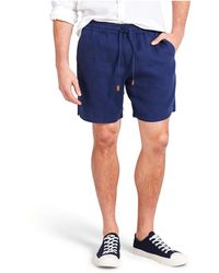 The Academy Brand - Riveria Linen Short - Lyst