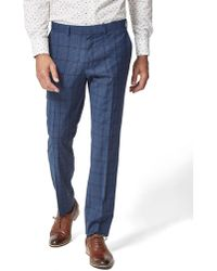 Simon Carter - Large Check Skin Trouser - Lyst