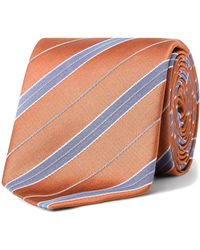 Eton of Sweden - Stripe Tie - Lyst