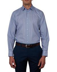 Geoffrey Beene - Pebble Creek Print Slim Fit Shirt - Lyst