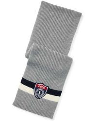 Polo Ralph Lauren - Striped Cotton Scarf(one Size) - Lyst
