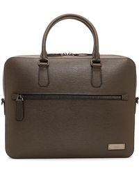 Bally - Bern Single Zip Briefcase - Lyst