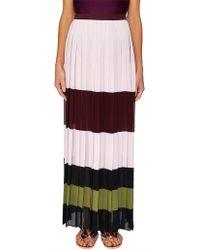 Ted Baker - Imperial Stripe Maxi Skirt - Lyst