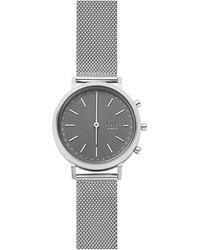 Skagen - Hald Stainless Steel Hybrid Smartwatch - Lyst