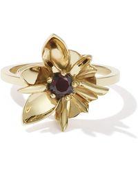 Meadowlark - Wildflower Ring - Thai Garnet - Lyst