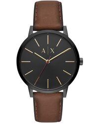 Armani Exchange - Men's Brown Watch - Lyst