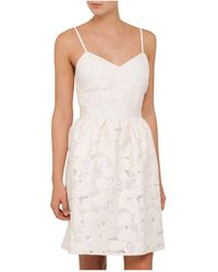 Ted Baker - Quancie Strappy Jacquard Dress - Lyst