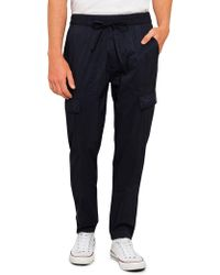 Vince - Drawstring Utility Pant - Lyst
