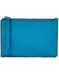 Fossil - Mini Double Zip Wallet - Lyst