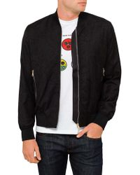 Paul Smith - Embroidered Naked Zip Bomber Jacket - Lyst
