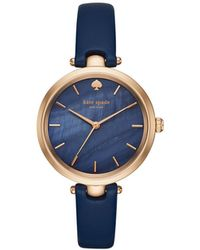 Kate Spade - Kate Spade Holland Blue Watch - Lyst