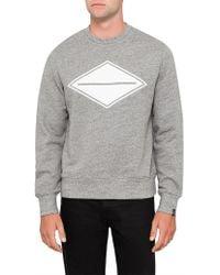 Rag & Bone - Diamond Sweatshirt - Lyst