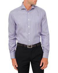 Eton of Sweden - Diamond Geometric Contemporary Fit Shirt - Lyst