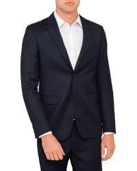 Geoffrey Beene - Textured Birdseye Jacket - Lyst