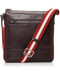 Bally - Trainspotting Small Cross Body Messenger With Flap - Lyst