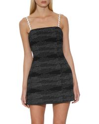 BY JOHNNY. - The Static Mini Shift Dress - Lyst
