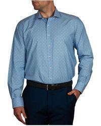 Geoffrey Beene - Snow Ball Dobby Slim Fit Shirt - Lyst