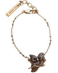 Marc Jacobs - Owl Bracelet - Lyst