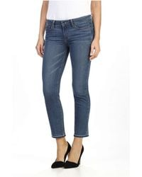 PAIGE - Jacqueline High Rise Straight Jean - Lyst