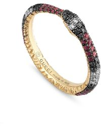 Gucci - Ouroboros Ring - Lyst