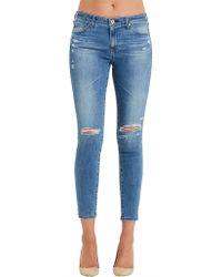 AG Jeans - The Legging Ankle - Lyst