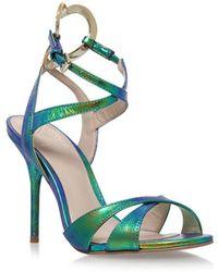 KG by Kurt Geiger - Jina Multi Strap Stiletto Sandals - Lyst