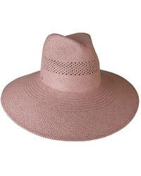 Ace of Something - Woven Paper Large Fedora With Vent Crown - Lyst