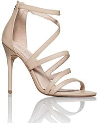 Chinese Laundry - Lalli Mid Heel Strappy Sandal - Lyst