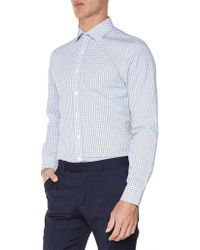 Ben Sherman - Ls Multi Gingham Camden Fit Shirt - Lyst