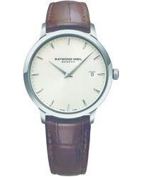 Raymond Weil - Toccata Quarts Watch - Steel Band - Lyst