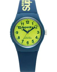 Superdry - 3 Hands; Lime Green Dial - Lyst