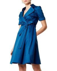 Karen Millen - Trench Dress - Lyst