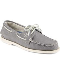 Sperry Top-Sider - A/o 2 Eye Canvas Boat Shoe - Lyst