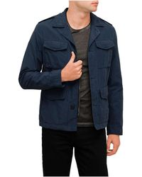 BOSS Orange - Field Navy Jkt - Lyst