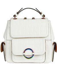 Oroton - Ashbry Croc Mini Backpack - Lyst