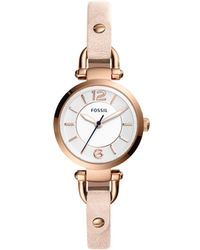Fossil - Georgia Nude Watch - Lyst