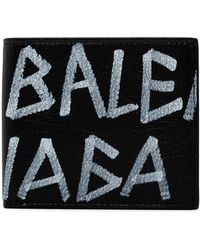 Balenciaga - Carry Square Coin Wallet - Lyst