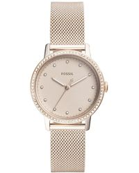 Fossil - Neely Rose Gold Watch - Lyst