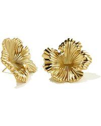 Meadowlark - Coral Earrings Large - Lyst