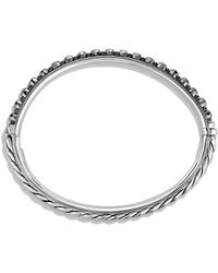 David Yurman - Osetra Bangle Bracelet With Hematine, 5mm - Lyst