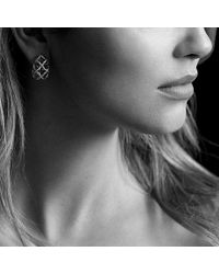 David Yurman | Venetian Quatrefoil Earrings With Diamonds In 18k Gold | Lyst